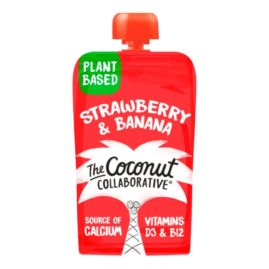 Little Coco Nutters Strawberry And Banana Puree 90G