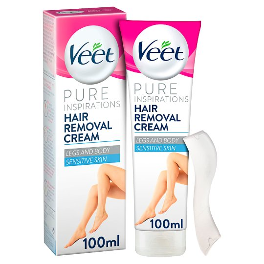 image 1 of Veet Sensitive Hair Removal Cream 100Ml
