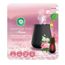 image 1 of Airwick Air Freshener Essential Mist Peony And Jasmine Kit