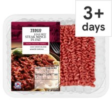 Tesco Beef Lean Steak Mince 500G 5% Fat