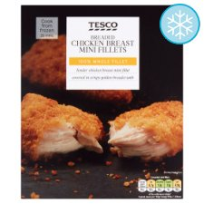Tesco Breaded Chicken Breast Mini Fillets 300G