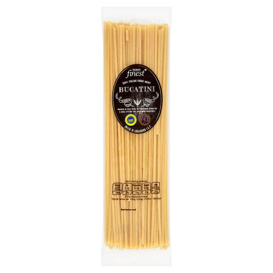 Tesco Finest Bucatini Pasta 500G