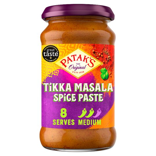 Pataks Tikka Masala Medium Paste 283G