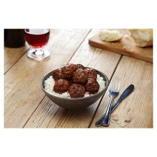 image 2 of Tesco 12 Beef Meatballs 336G