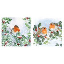 Tesco Traditional Robin Card 10 Pack