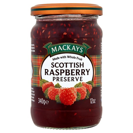 Mackays Scottish Raspberry Preserve 340G