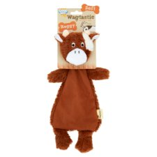 Wagtastic Raggy Dog Toy