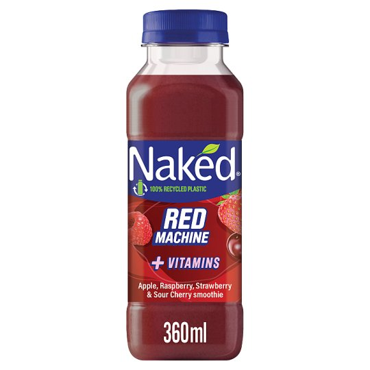 Naked Red Machine Strawberry Smoothie 360Ml