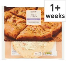 Tesco Garlic Flatbread 255G