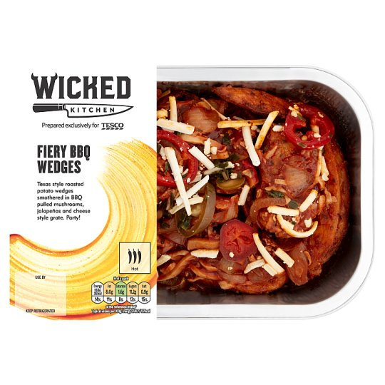 Wicked Kitchen Fiery Filthy Wedges 450G