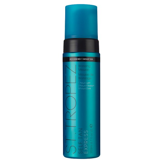 St Tropez Self Tan Express Brnz Mousse 200Ml