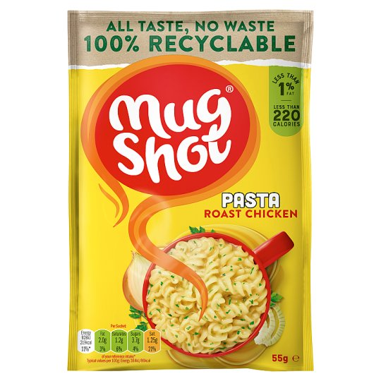 Mugshot Roast Chicken Pasta 55G
