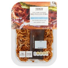 Tesco New York Bbq Pulled Pork 180G