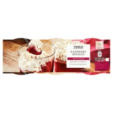 Tesco Raspberry Royale Desserts 3 X115g