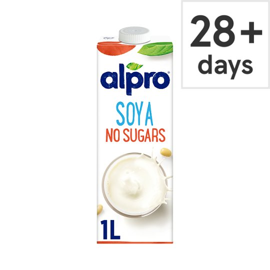 Alpro Soya Unsweetened Longlife Milk Alternative 1 Litre