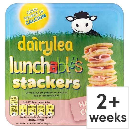 Dairylea Lunchables Ham And Cheese 101.9G