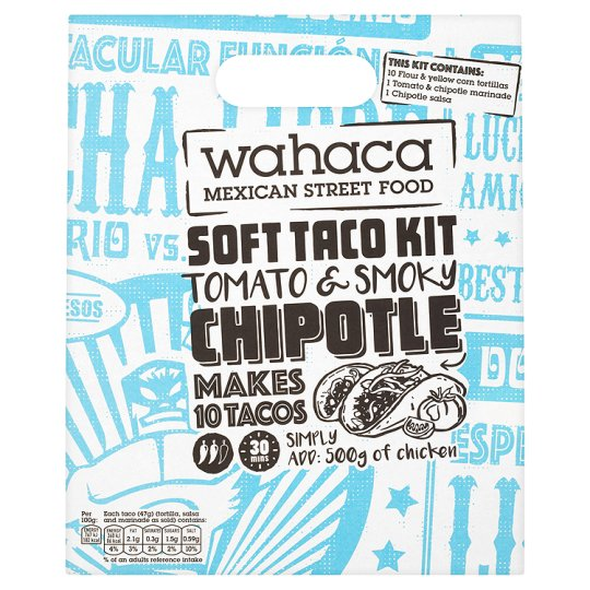 Wahaca Tomato And Chipotle Soft Taco Kit 470G