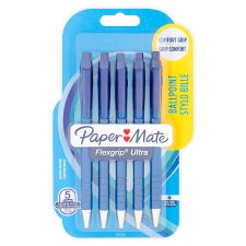 Paper Mate Flex Grip Blue 5 Pack