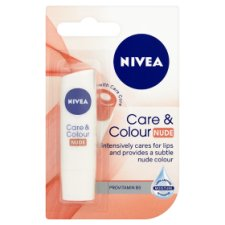 Nivea Care And Colour Nude Lip Balm 4.8G
