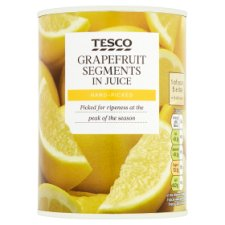 Tesco Grapefruit Segments In Juice 538G