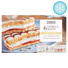 Tesco 6 Vanilla Slices 240G
