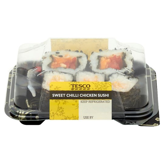 Tesco Chilli Chicken Sushi 76G