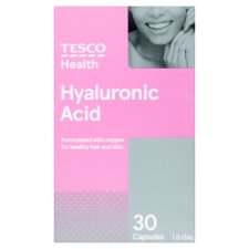 Tesco Health Hyaluronic Acid And Copper 30 Capsules
