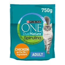 Purina One Dual Nature Dry Cat Food Chicken 750G