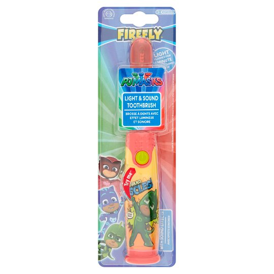 P J Masks Firefly Light And Sound Toothbrush