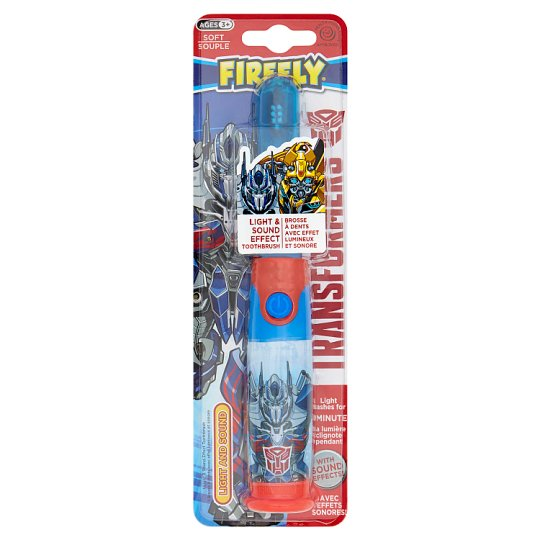 Transformers Firefly Light And Sound Toothbrush