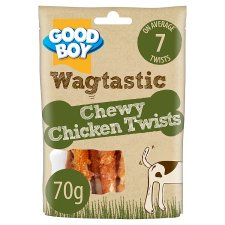 Good Boy Chicken Twists Dog Chew Treats 70G