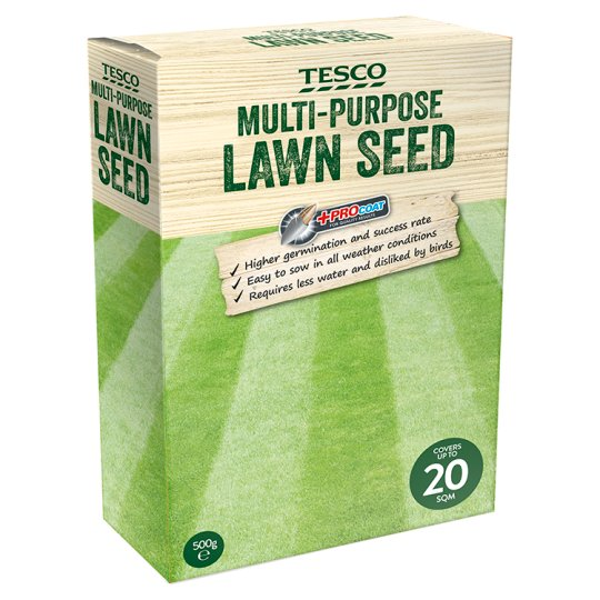 Tesco Multi-Purpose Grass Seed 500G