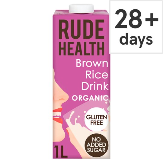 Rude Health Brown Rice Drink 1 Litre