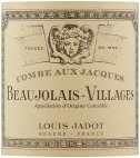Label for Louis Jadot Beaujolais Villages Combe aux Jacques