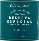 Label for Cono Sur Reserva Especial Riesling