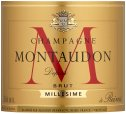 Label for Montaudon Vintage Champagne Brut 75cl