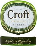 Label for Croft Original Sherry 1 Ltr