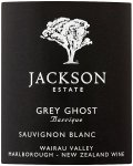 Label for Jackson Estate Grey Ghost Sauvignon Blanc 2013, Marlborough