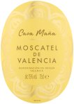 Label for Tesco Moscatel de Valencia 75cl