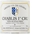 Label for Chablis 1er Cru Fourchaumes 75cl
