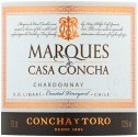 Label for Marques de Casa Concha Chardonnay 75cl