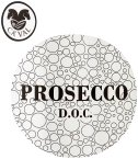 Label for Prosecco DOC Brut 750ml