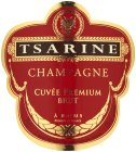 Label for Tsarine Cuvee Premium Brut 75cl