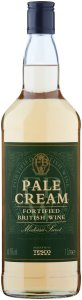 Tesco Pale Cream Fortified British Wine 1 Litre