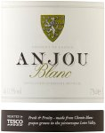 Label for Tesco Anjou Blanc 75cl