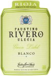 Label for Faustino Rivero Ulecia Green Label Rioja Blanco 75cl
