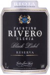 Label for Faustino Rivero Ulecia Rioja Reserva