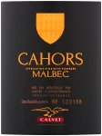 Label for Calvet Cahors Malbec 75cl