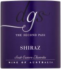 Label for DGS The Second Pass Shiraz 75cl