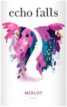 Label for Echo Falls Merlot 75cl
